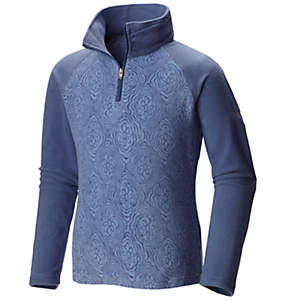 Girl's Glacial™ II Fleece Print Half Zip
