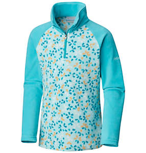 Girls' Toddler Glacial™ II Fleece Print Half Zip
