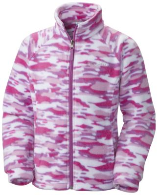 Girls' Benton Springs™ II Printed Fleece Jacket | Tuggl