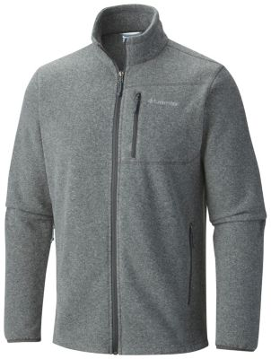 Columbai Men's Cascades Explorer Full Zip Fleece Jacket