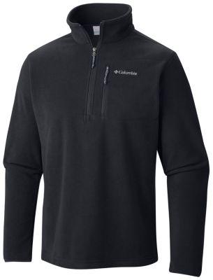 Men's Cascades Explorer™ Half Zip Fleece Jacket | Tuggl