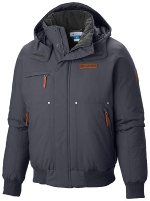 Men S Downward Dash Bomber Warm Insulated Down Jacket