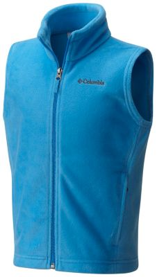Boys Steens Mt™ Fleece Vest at Columbia Sportswear in Oshkosh, WI | Tuggl