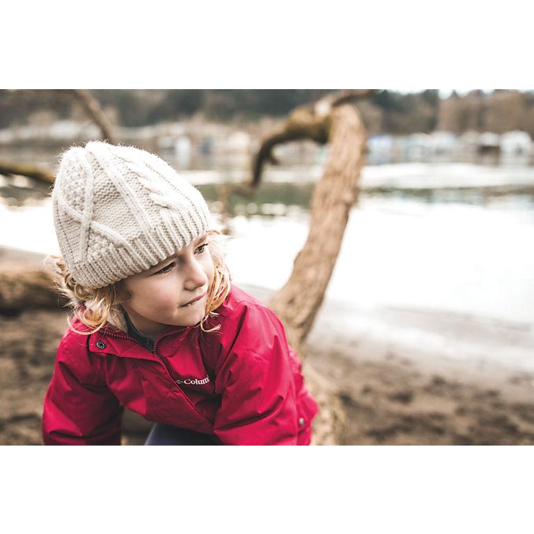 Kids  Cable Cutie Fleece-lined Beanie Hat  4b483134dfe