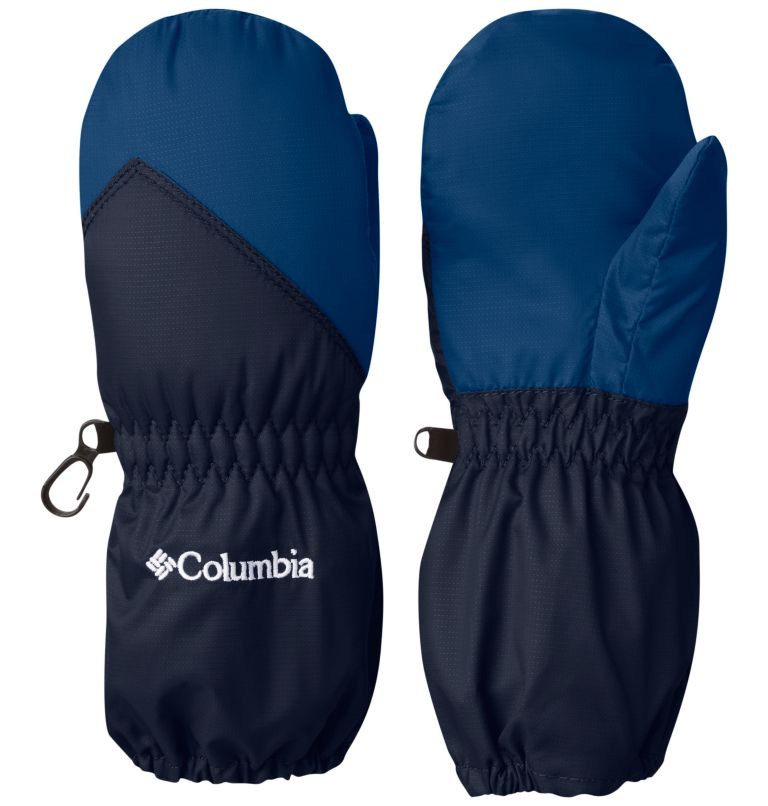Toddler Chippewa™ Long Mitten | 464 | O/S Toddler Chippewa™ Long Mittens, Collegiate Navy, Marine Blue, front