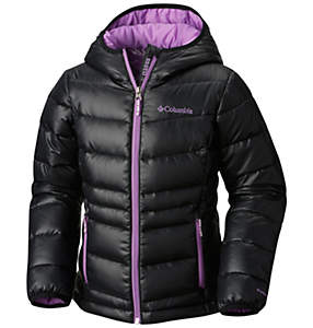 Girls Gold 550 TurboDown™ Hooded Down Jacket