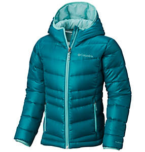 Girls' Gold 550 TurboDown™ Hooded Down Jacket