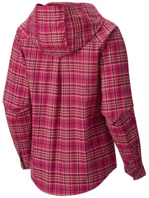 Women's Tahoma Hooded Flannel Long Sleeve Shirt