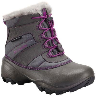 Girl's Rope Tow™ III Waterproof Boot - Youth at Columbia Sportswear in Oshkosh, WI | Tuggl
