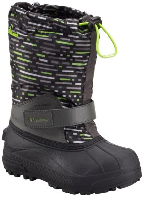 Youth Powderbug™ Forty Print Boot at Columbia Sportswear in Oshkosh, WI | Tuggl