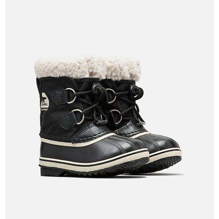1cef224f38c34 Black Little Kids  Yoot Pac™ Nylon Boot