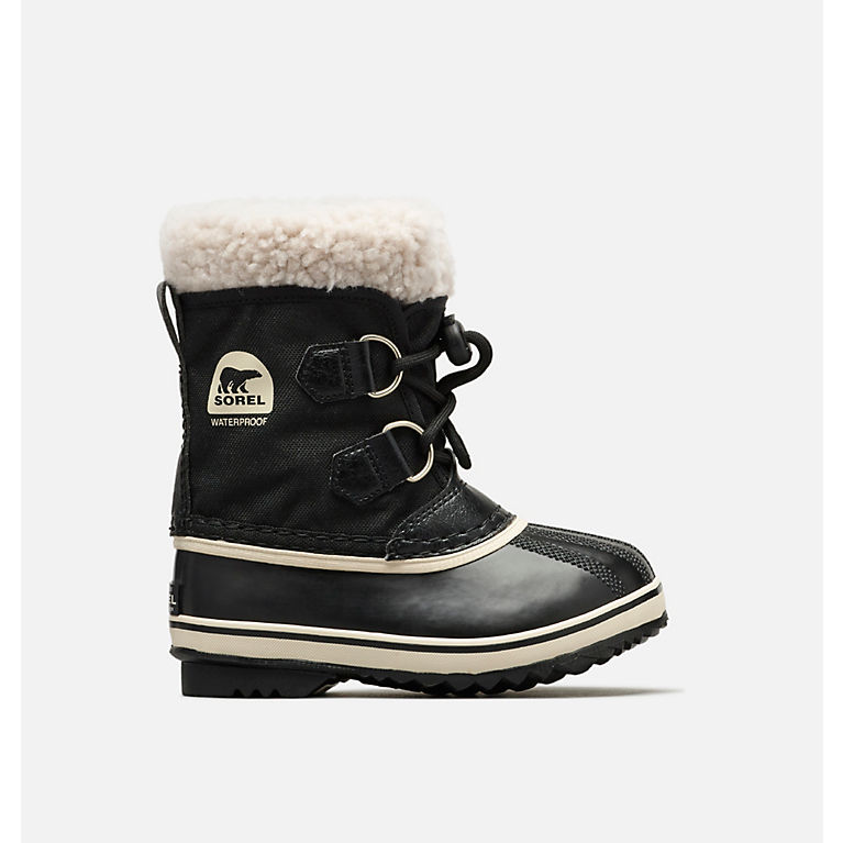 92ddf9c2a4cd Black Little Kids  Yoot Pac™ Nylon Boot ...