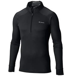 Men's Heavyweight II Stretch Baselayer Long Sleeve Half Zip Shirt