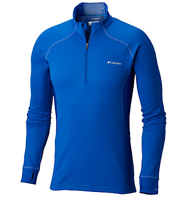 Maglia Heavyweight II Long Sleeve Half Zip da uomo , front