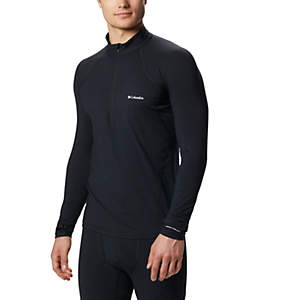Camiseta con media cremallera Midweight para hombre