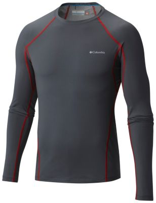 Men's Midweight Stretch Baselayer Long Sleeve Shirt | Tuggl