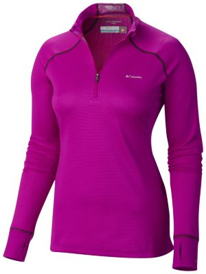 Women's Heavyweight II Baselayer Long Sleeve Half Zip Shirt | Tuggl
