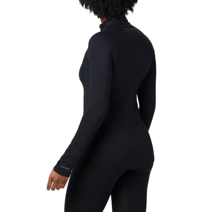 Women's Midweight Stretch Baselayer Long Sleeve Half Zip Shirt Women's Midweight Stretch Baselayer Long Sleeve Half Zip Shirt, back