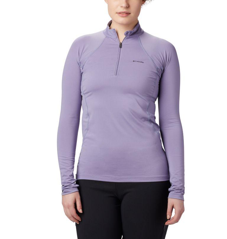 Women's Midweight Stretch Baselayer Long Sleeve Half Zip Shirt Women's Midweight Stretch Baselayer Long Sleeve Half Zip Shirt, front