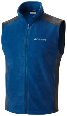 Men's Steens Mountain™ Fleece Vest - Tall at Columbia Sportswear in Oshkosh, WI | Tuggl