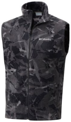 Men's Steens Mountain™ Printed Fleece Vest at Columbia Sportswear in Oshkosh, WI | Tuggl