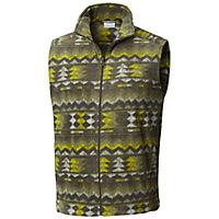 Columbia Men's Steens Mountain Printed Fleece Vest