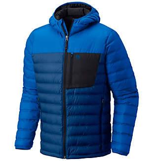 Manteau à capuchon en duvet Dynotherm™ pour homme