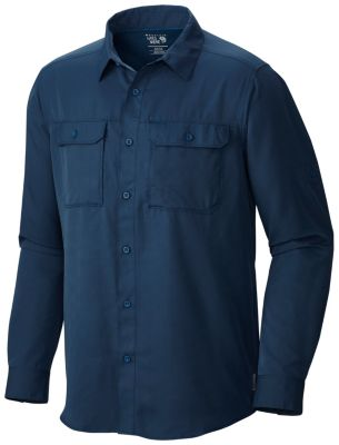 mens canyon long sleeve shirt mountain hardwear