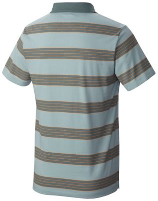 Men's ADL™ Striped Short Sleeve Polo