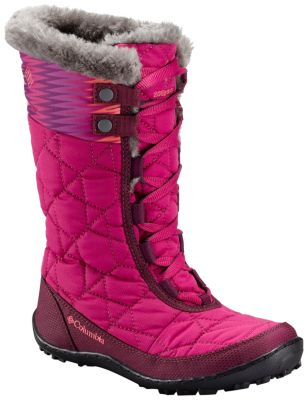Youth Minx™ Mid II Waterproof Omni-Heat™ Boot at Columbia Sportswear in Oshkosh, WI | Tuggl