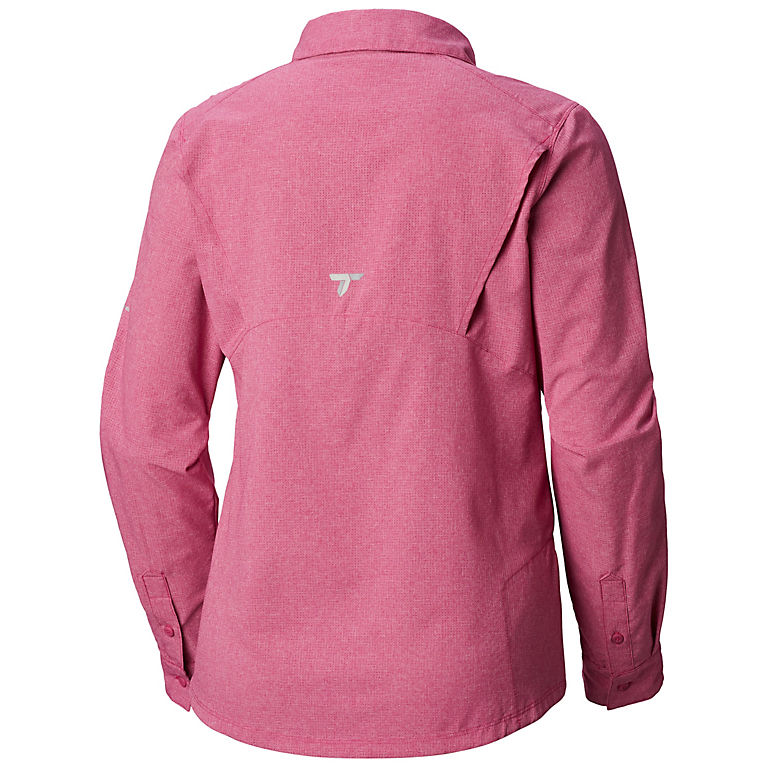 0fa7797c6a6 Haute Pink Heather Women's Irico™ Long Sleeve Shirt, ...