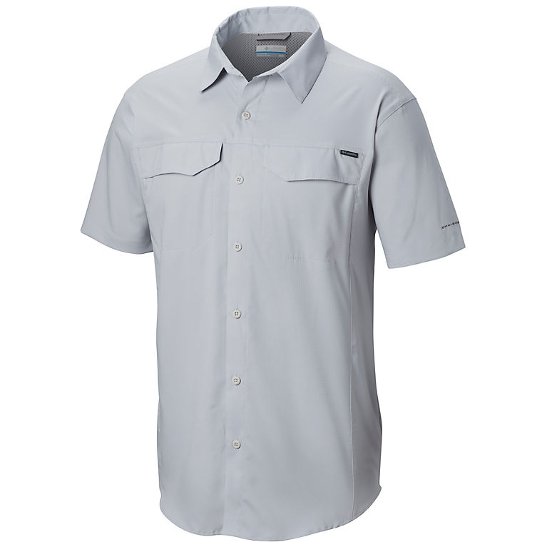 87744c769 Cool Grey Men's Silver Ridge Lite™ Short Sleeve Shirt, View 0