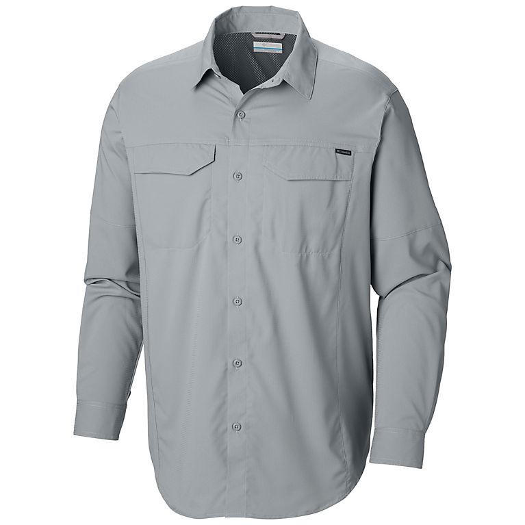 56cd4ad097230 Men s Silver Ridge Lite Long Sleeve Button-up Trail Shirt