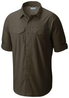87cdba1489a Columbia | Men's Silver Ridge Lite Long Sleeve Button Up Wicking Vented Sun  Shielding Trail Shirt