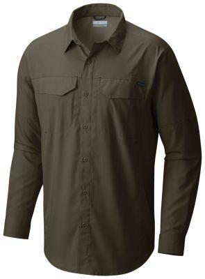3fb7c287268 Columbia   Men's Silver Ridge Lite Long Sleeve Button Up Wicking Vented Sun  Shielding Trail Shirt