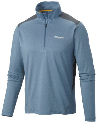 Men s Titan Ice Half Zip Shirt  8a04bf7a8