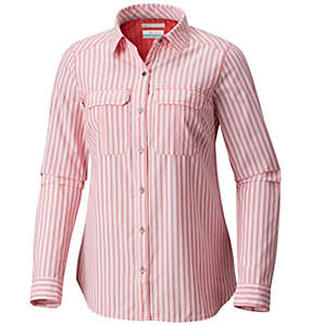 Chemise rayée manches longues Pilsner Peak™ pour femme