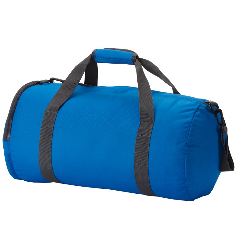 Barrelhead™ SM Duffel Bag | 438 | O/S Barrelhead™ Unisex Small Duffel Bag, Super Blue, Graphite, back
