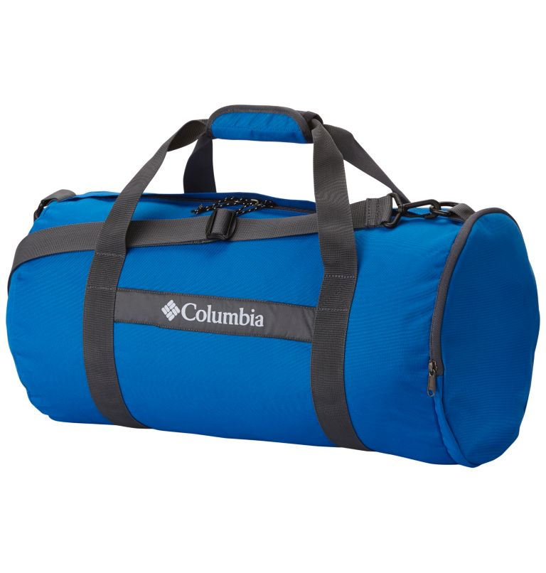 Barrelhead™ SM Duffel Bag | 438 | O/S Barrelhead™ Unisex Small Duffel Bag, Super Blue, Graphite, front