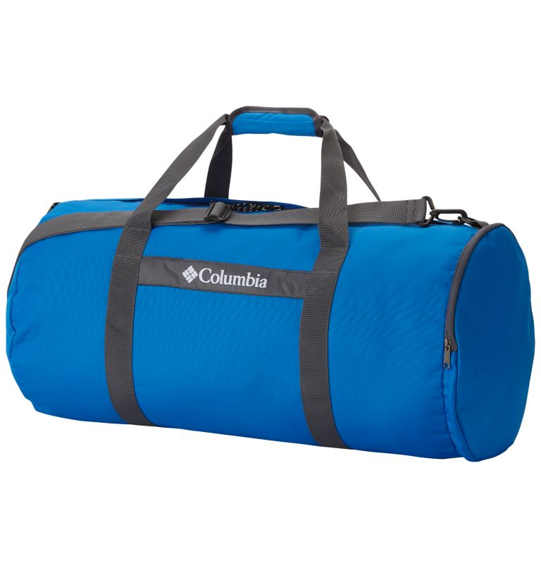 Barrelhead™ MD Duffel Bag | 438 | O/S Barrelhead™ Unisex Medium Duffel Bag, Super Blue, Graphite, front