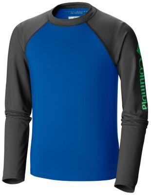 Kids' Mini Breaker™ Long Sleeve Sunguard at Columbia Sportswear in Economy, IN | Tuggl