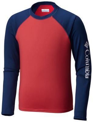 b1bae9eb956a3 Kids  Mini Breaker Long Sleeve Sun-shielding Rashguard