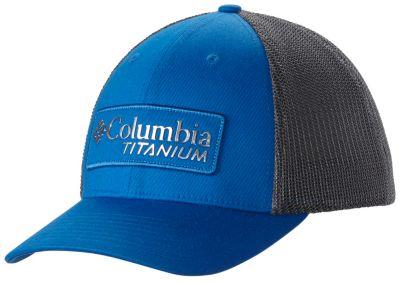 cfbce2236e4 Titanium Flexfit Fitted Mesh Back Vented Ball Cap Hat