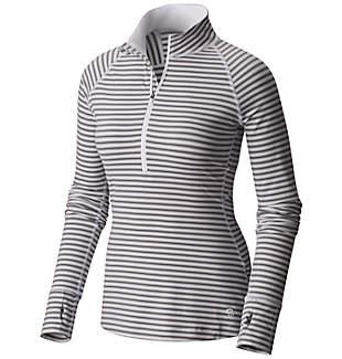 Women's Butterlicious™ Stripe Long Sleeve Half-Zip