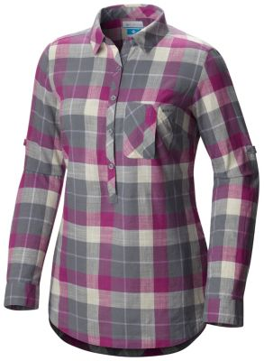 890a4c330ea Women's PFG Coral Springs™ II Woven Long Sleeve Shirt