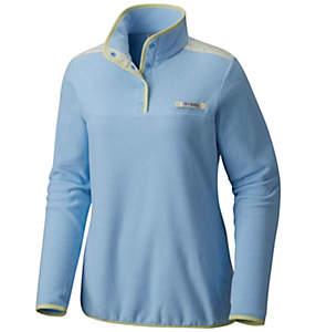 Women's PFG Harborside™ Overlay Fleece Pullover Jacket