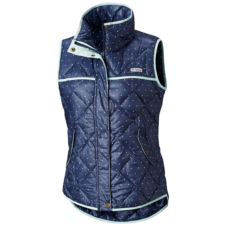 Columbia PFG Harborside Diamond Quilted Womens Vest