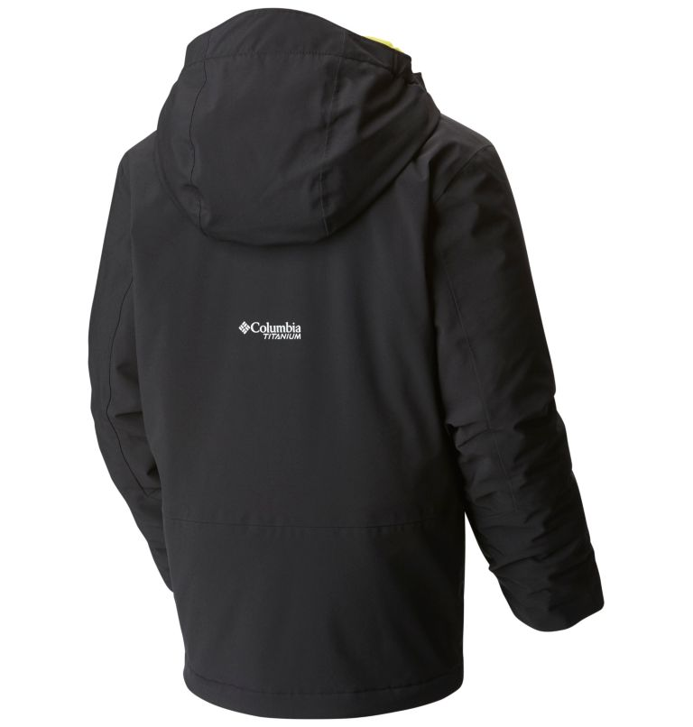 EmPOWder™ isolierte Kapuzenjacke für Jungen EmPOWder™ isolierte Kapuzenjacke für Jungen, back