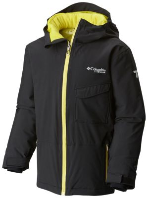 Boy's EmPOWder™ Insulated Hooded Jacket at Columbia Sportswear in Oshkosh, WI | Tuggl