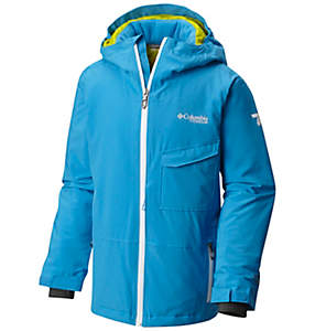 Boys' EmPOWder™ Insulated Hooded Jacket